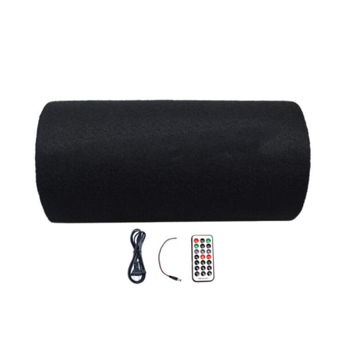 Qiyuezhuangshi スピーカー、携帯用USB車のブルートゥースのステレオ、12v / 24v車のサブウーファー Hong Liang (Color : Black) B07RDP6SDK
