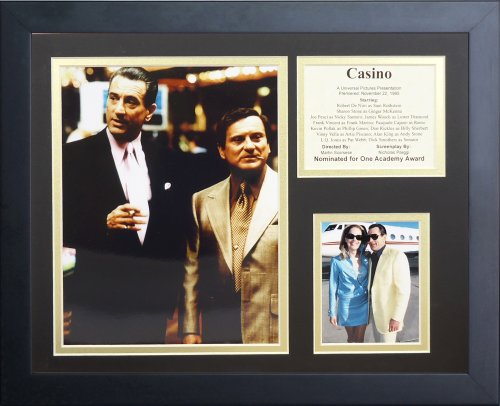 (Legends Never Die Casino Collage Photo Frame, 11