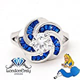 London Emily Jewelers Nothing Is Impossible Alice In Wonderland Inspired Ring