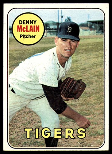 Baseball MLB 1969 Topps #150 Denny McLain EX/NM