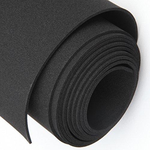 Rubber Padding, Foam Roll 1/16