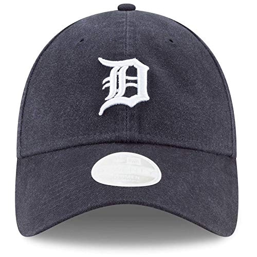 Tiger Womens Cap - New Era Women's Detroit Tigers 9Twenty Adjustable Hat (OneSize)