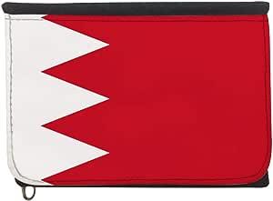 محفظة بتصميم علم البحرين، قماش جينز