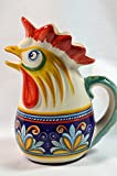 Ceramic Rooster Pitcher, Rana