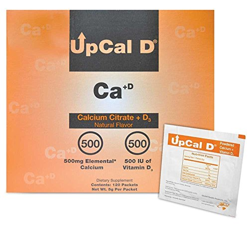 UPCAL D POWDER PACKETS 4 BOXES OF 120 (1 CASE) by GLOBAL HEALTH PRODUCTS