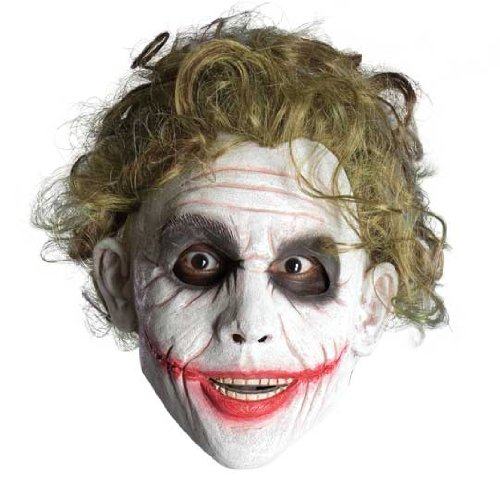 Dark Knight Joker Costume Accessories (Batman The Dark Knight Child's Wig, The Joker)