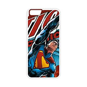 iPhone 6 4.7 Inch Cell Phone Case White Superman in Action OJ396581