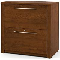 Pemberly Row 2 Drawer Lateral File Cabinet in Tuscany Brown