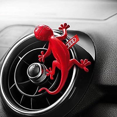 Genuine Audi Gecko Cockpit Air Freshener Red Floral fragrance: Automotive