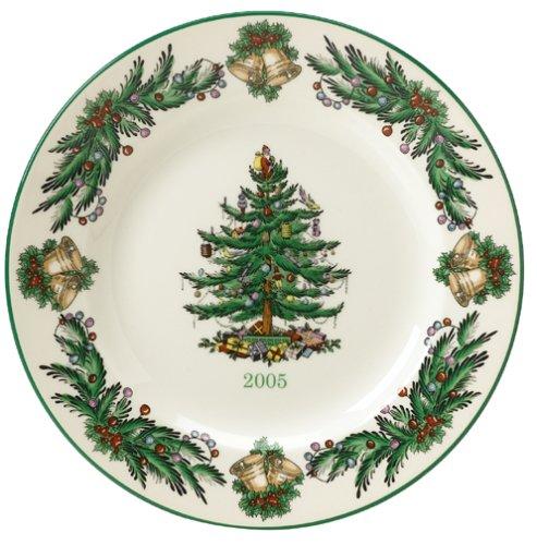 2005 Christmas Plate - Spode Christmas Tree 2005 Annual Collector Plate