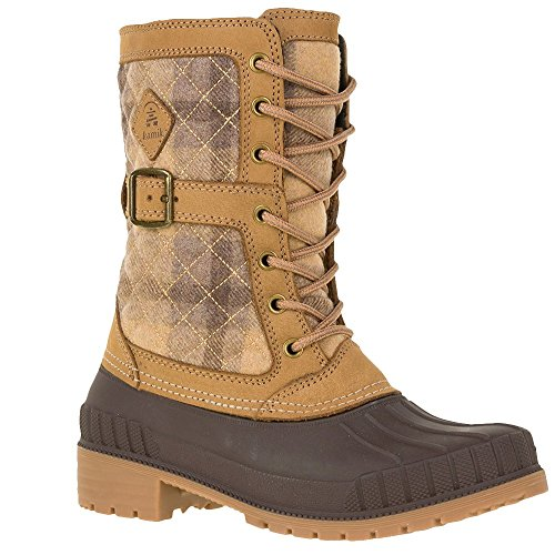 Brown Kamik 2017 Boots Women Sienna Apple Cinnamon rvxvqwt