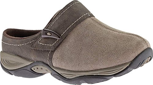 easy-spirit-womens-eliana-clogdark-taupe-brown-suedeus-8-ww