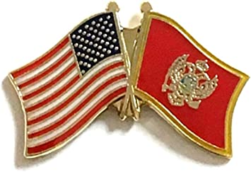 Pack of South Vietnam New World Flag Lapel Pin Badges; Three Patriotic Country Hat Lapel Pins