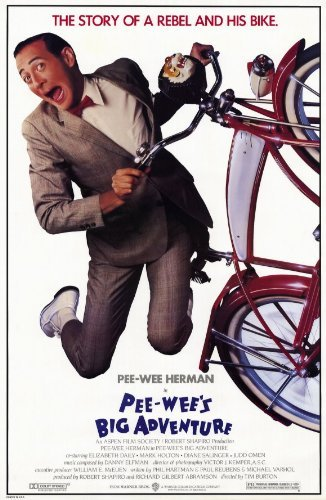Pee wee's Big Adventure POSTER Movie (11 x 17 Inches - 28cm x 44cm) (1985) ()