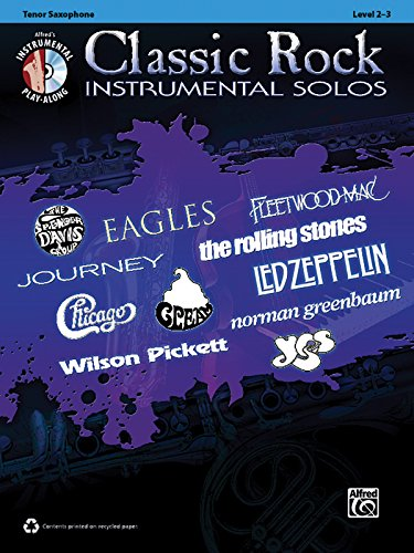 Classic Rock Instrumental Solos: Tenor Sax, Book & CD (Pop Instrumental Solo Series)