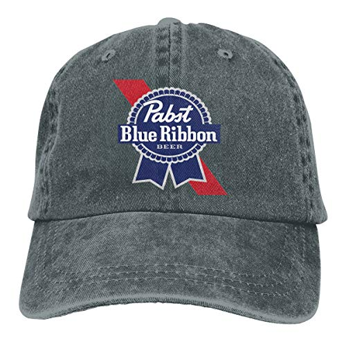 Pabst Blue Ribbon Classic Logo Baseball Caps Adjustable, used for sale  Delivered anywhere in USA
