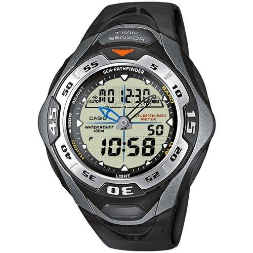 Casio SPF-60-1AVER - Reloj de mujer con correa de plástico: Amazon.es: Relojes