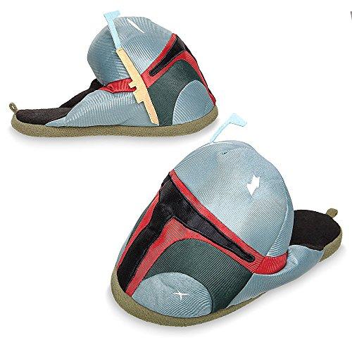 Star Wars Boba Fett Slippers for Men Size 7/8 ()