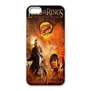 Yo-Lin case Style-8 - Lord Of The Rings Pattern For Apple Iphone 5 5S Cases