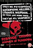 DVD : Strange Things Happen at Sundown