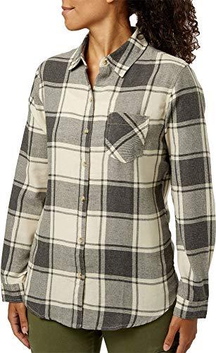 Field & Stream Women's Classic Lightweight Flannel,(Waconia Rny Dy HTR,Medium) ()