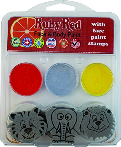 Snazaroo Elephant Tiger Paint Stamps
