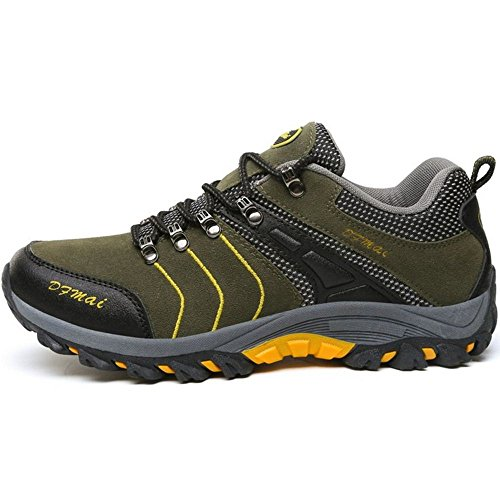Trekking Boots Shoes KemeKiss High Lace Up Top Green Men qREEBnrt