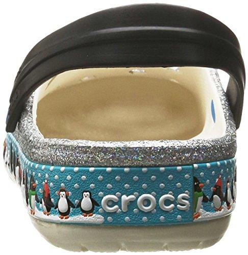 Mixte Penguins Blanc oyster Clog Adulte Sabots Crocs Crocband qTvOwB