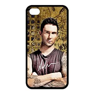 Customize Popular Singer Adam Levine Back Cover Case for iphone 4 4S Protect Your Phone by ruishername