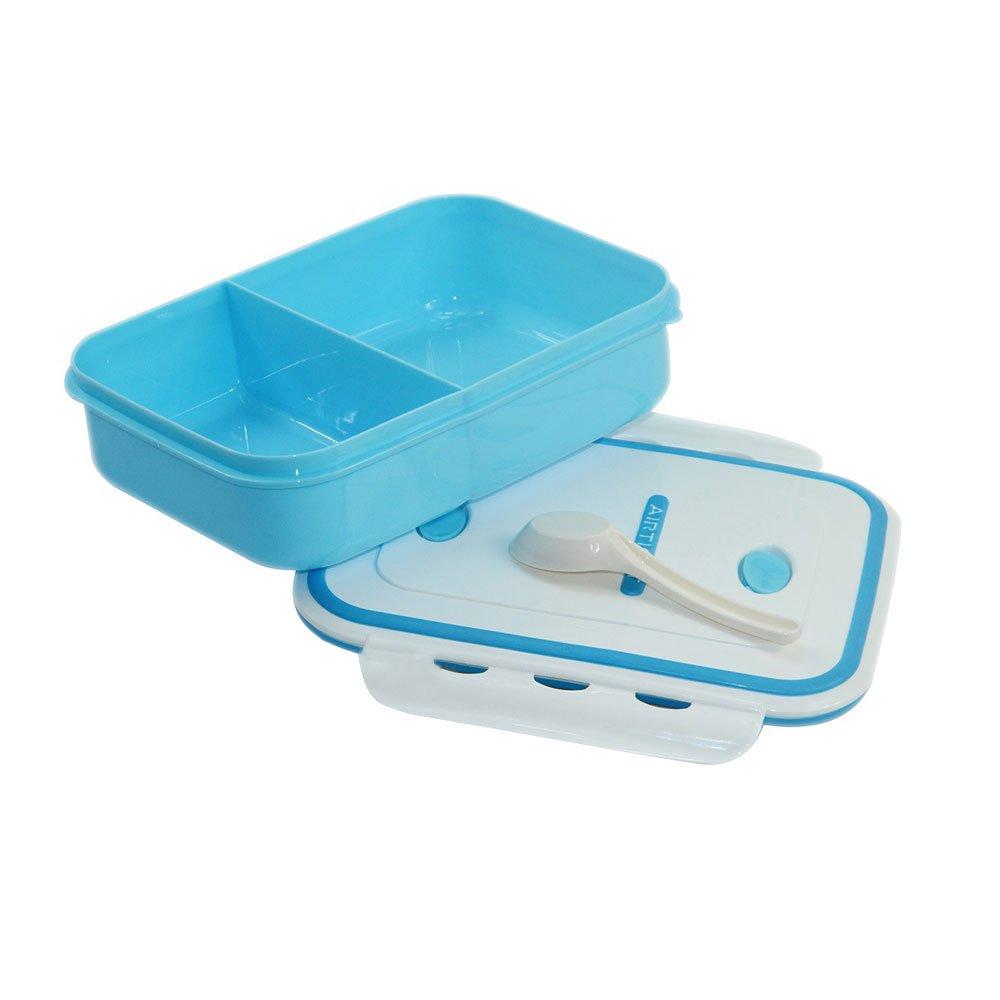 OldPAPA Lunch Box//Caja Bento,Lunch Box Caja De Almuerzo Bento Apta Para Microondas Contenedores Para Alimentos Compartimentados En Single Nivele