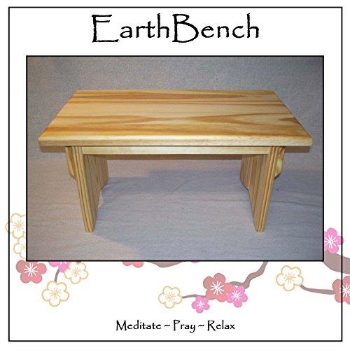 Meditation Altars For Sale: Solid Pine Personal Meditation Prayer Altar By EarthBench
