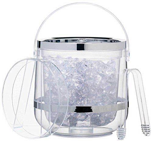 Acrylic Ice Bucket (Acrylic Double Walled Insulated Ice Bucket)