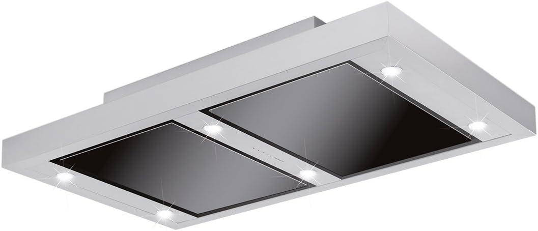 Silverline ALD 124.1 S ALTENA techo Campana/Campana/Campana isla/120 cm/C: Amazon.es: Grandes electrodomésticos