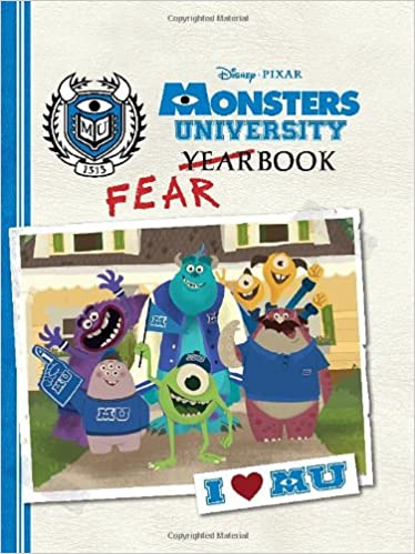 amazon monsters university fearbook disney book group calliope
