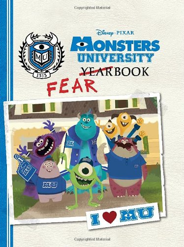 Amazon monsters university fearbook disney book group amazon monsters university fearbook disney book group calliope glass disney storybook artists humor voltagebd Gallery