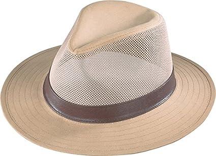 2fd2ee49cf4 Amazon.com  Henschel Men s Safari Breezer Hat  Sports   Outdoors