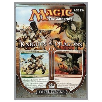Magic the Gathering: MTG Duel Decks: Knights vs Dragons Foriegn Language - Spanish