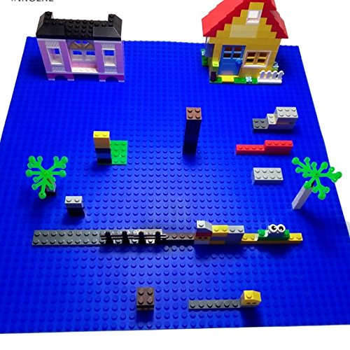 LEGO Compatible Peel And Stick Baseplates Silicone Set Of
