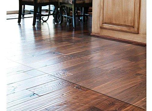 - FJDGJHB Floor Protector mat Transparent Floor mat Computer Chair Chair mat PVC mats Office Chair mat-A 140x210cm(55x83inch)