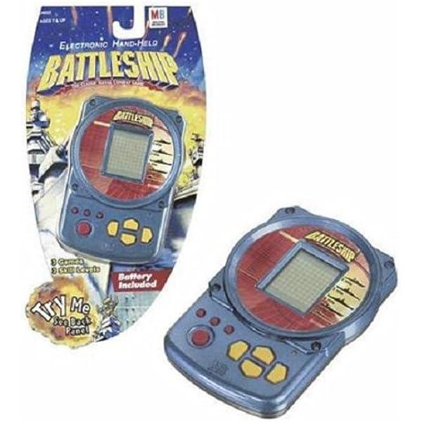 Amazon Com Electronic Hand Held Battleship Toys Games