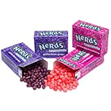 Nerds Strawberry and Grape Candy Packs - 59 Piece Bag