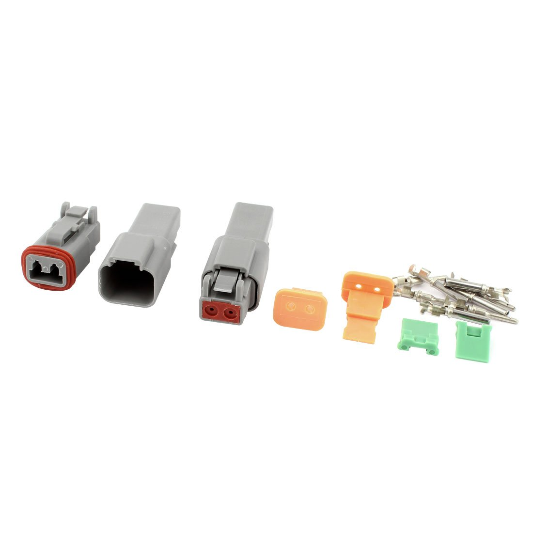 uxcell 2Sets Deutsch DT04-2P/DT06-2S Electric Connector by uxcell