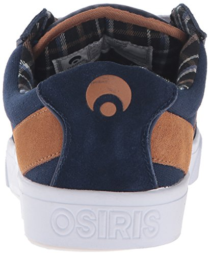 Osiris Lumin Navy/Brown/White 6.5uk