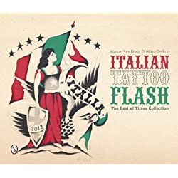 The Best of Times Collection Italian Tattoo Flash (Hardback) - Common