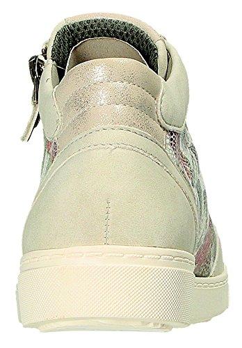 Ice ice Mujer Zapatos offwhite weiss G Para Offwhite Cordones Weite de Weite Jenny G Gris Weiss 0Iq7q