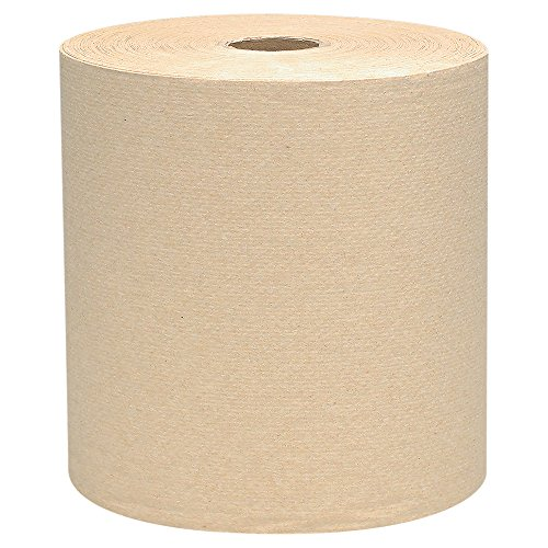 Scott Hard Roll Paper Towels (04142), Natural, 800' / Roll, 12 Rolls / Case, 9,600' / Case (Paper Towel Scott Dispenser)