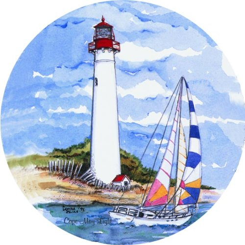 Cape May Lighthouse Absorbent Coasters