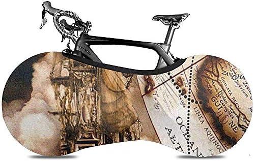 Cubierta De Bicicleta,Vintage Pirate Ship Map Murals Impresión ...