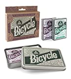 Bicycle Retro Tin Playing Card Gift Set