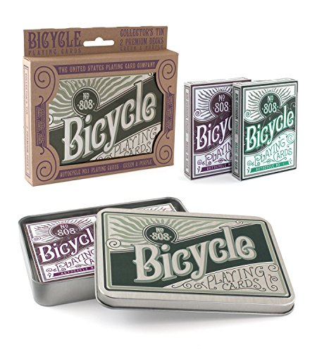 Bicycle Retro Tin Playing Card Gift Set by Bicycle